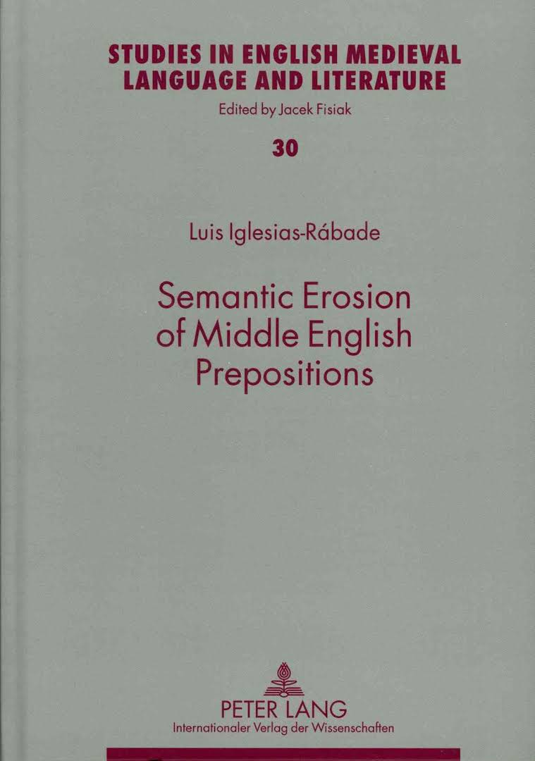 Semantic Erosion of Middle English